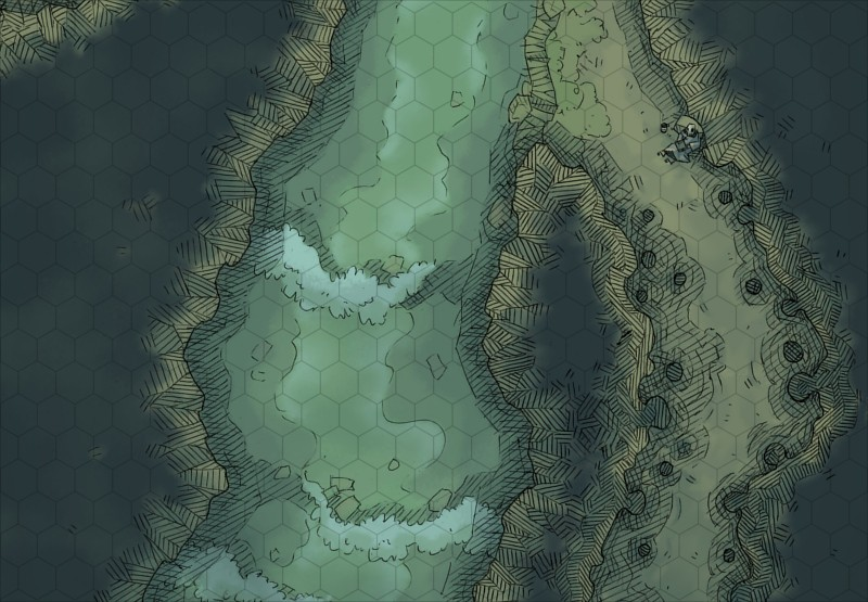 Cavern River 2 Minute Table Top