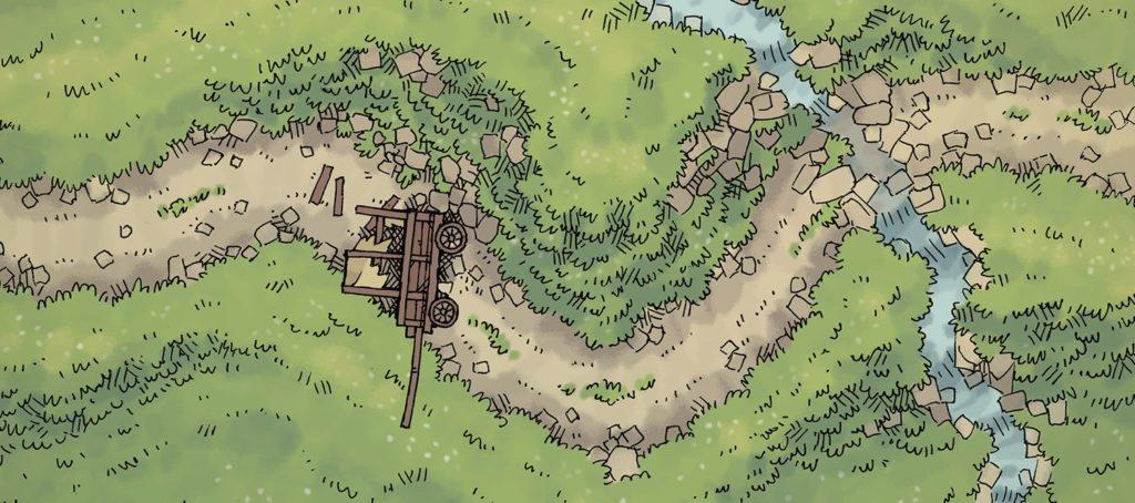 Twisting Trail Battle Map