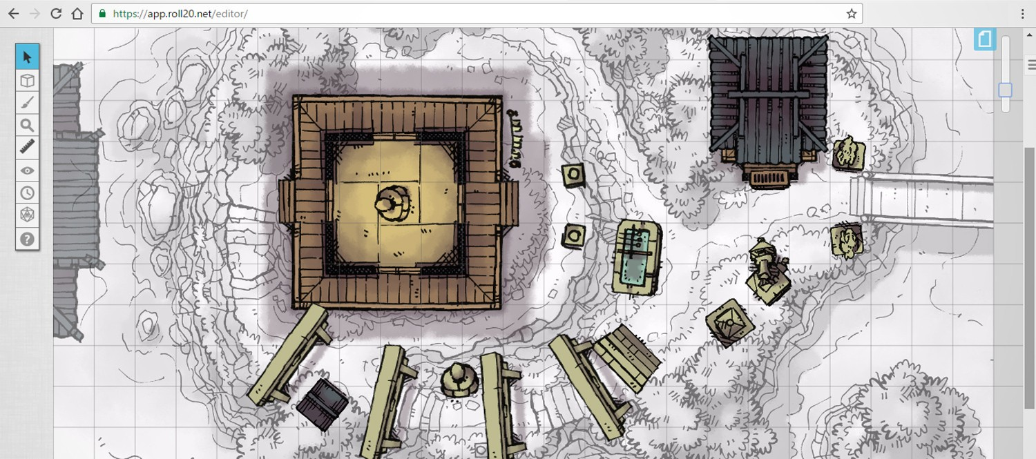 Japanese Shrine Maps & Tokens designed for D&D and Roll20