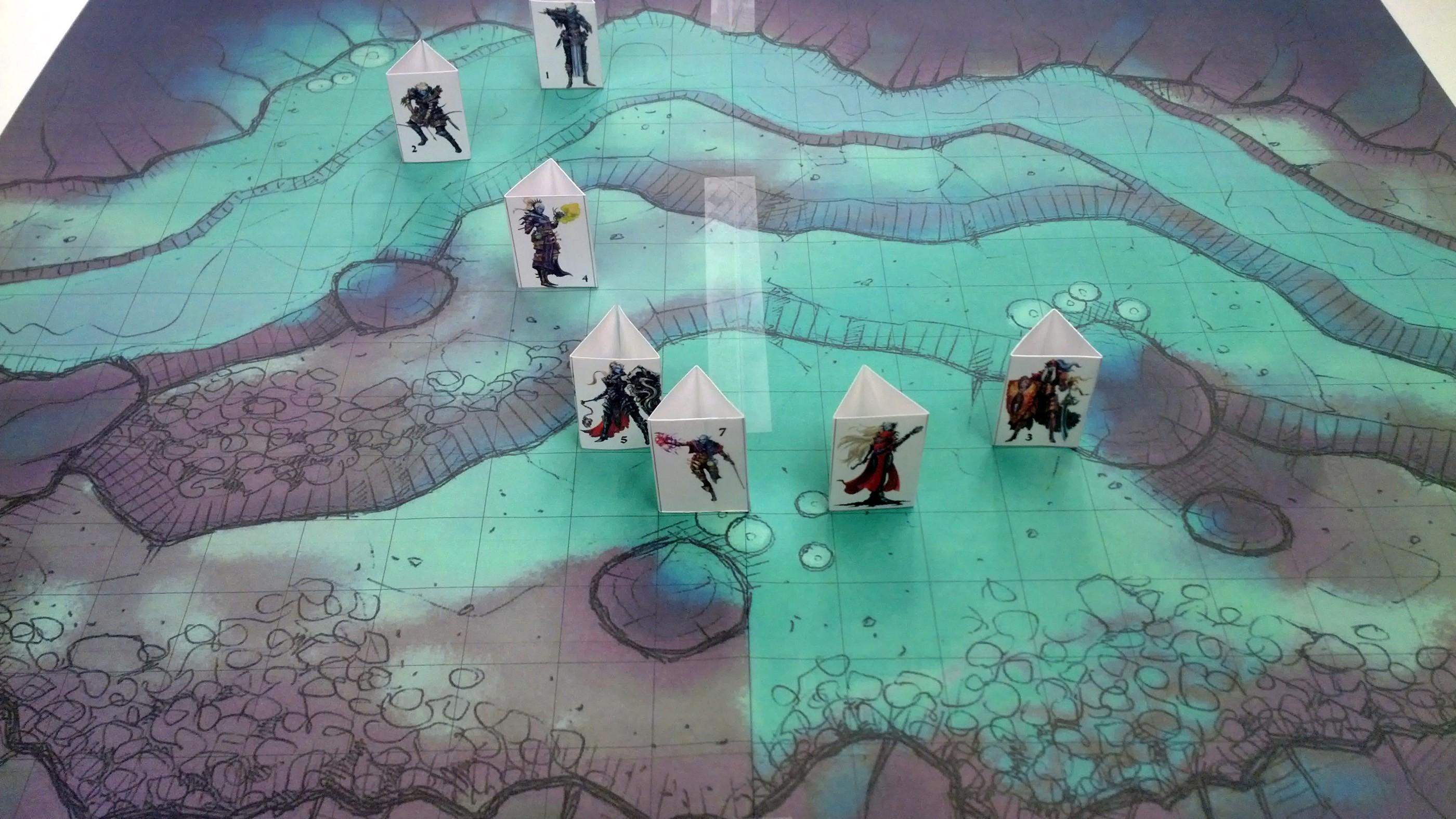 underdark cave battle map