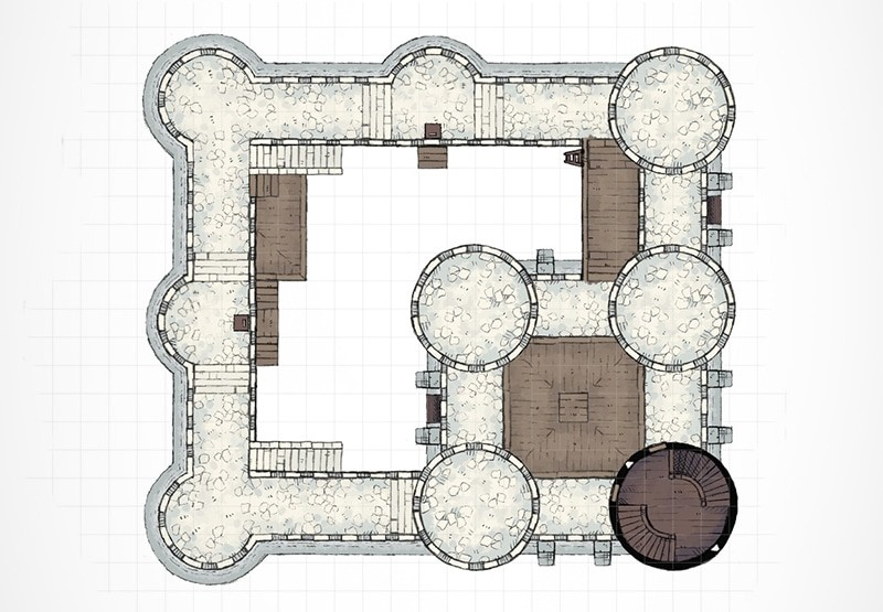 Castle Walls - 2-Minute Table Top