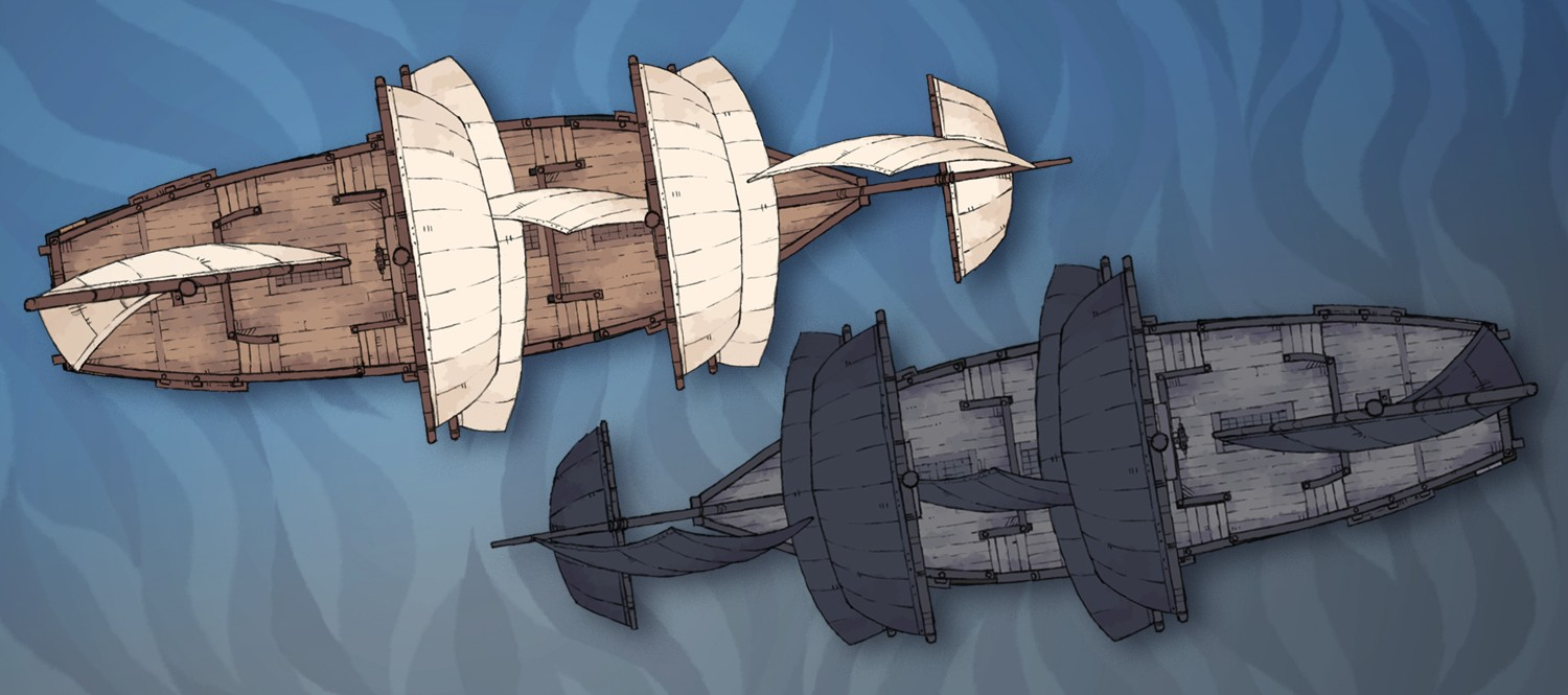 Galleon Ship (banner dread)