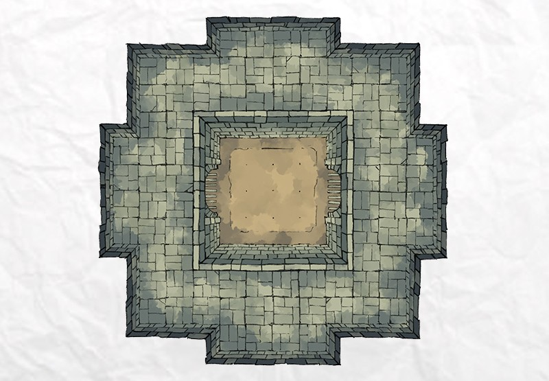 Dungeon Fighting Pit 2 Minute Table Top