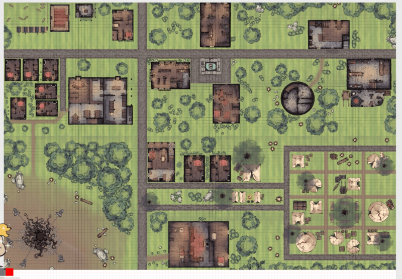 Meriadoc's Roll20 Town of Val-Tortis 2