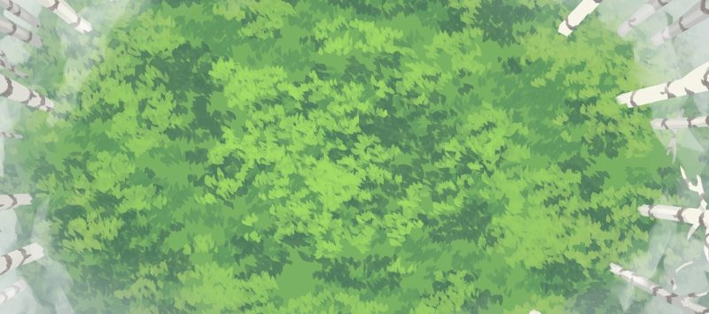 Wicked Woods battle map, cleansed banner