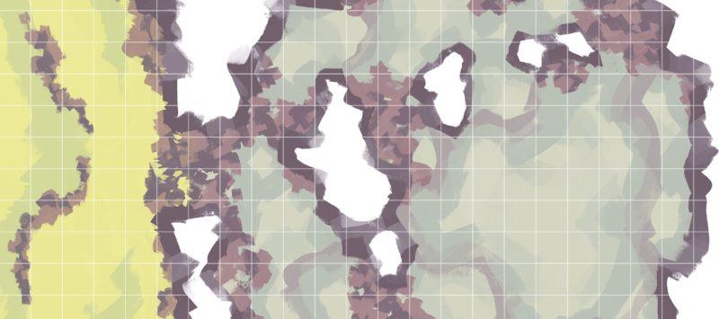Monster Lair RPG Battle Map, Banner