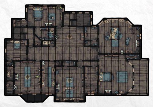 Haunted Mansion (Furnished), floor 2