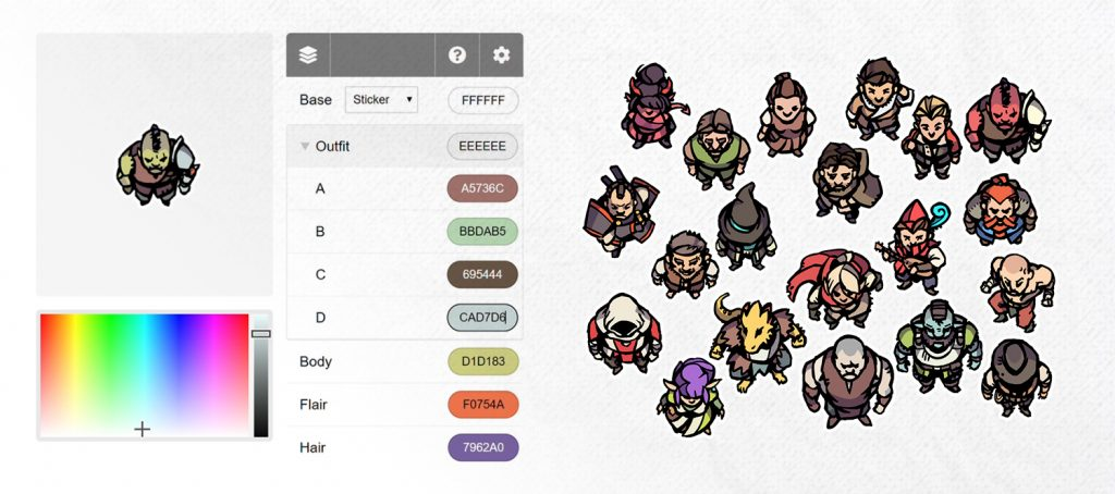 Hero / Player Character Tokens and Token Editor by 2-Minute Table Top