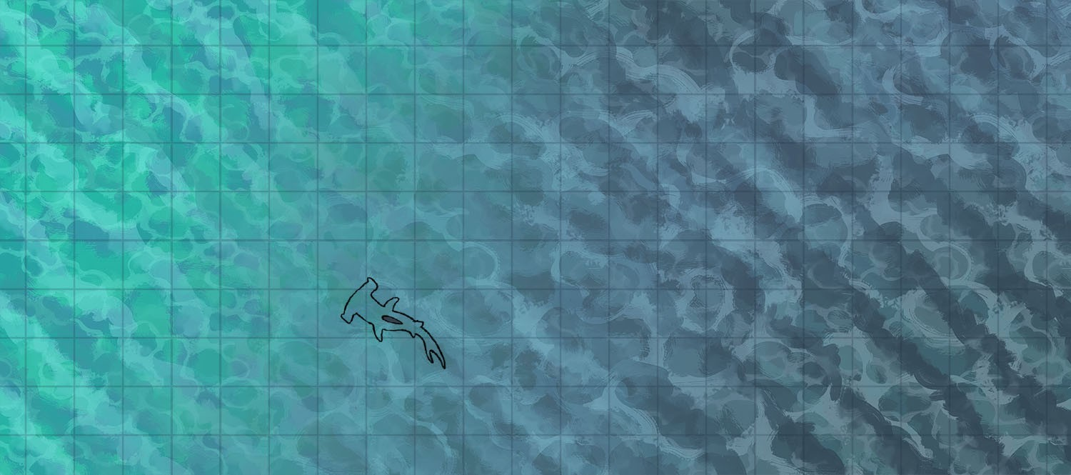 Ocean sea water tile texture map assets, banner