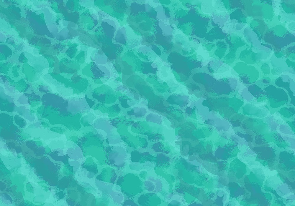 Ocean sea water tile texture map assets, tropical