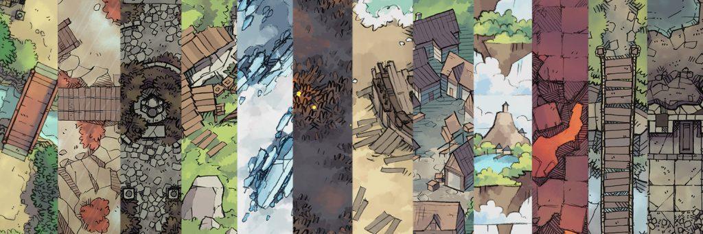 2-Minute Table Top – Printable & Digital RPG Maps & Assets