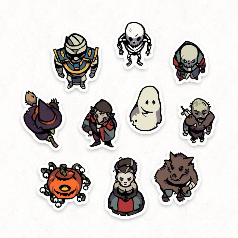 Halloween Monster RPG Tokens – Instagram Preview