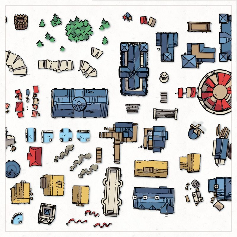 Wonderdraft Town & City Map Assets Pt.3, Instagram