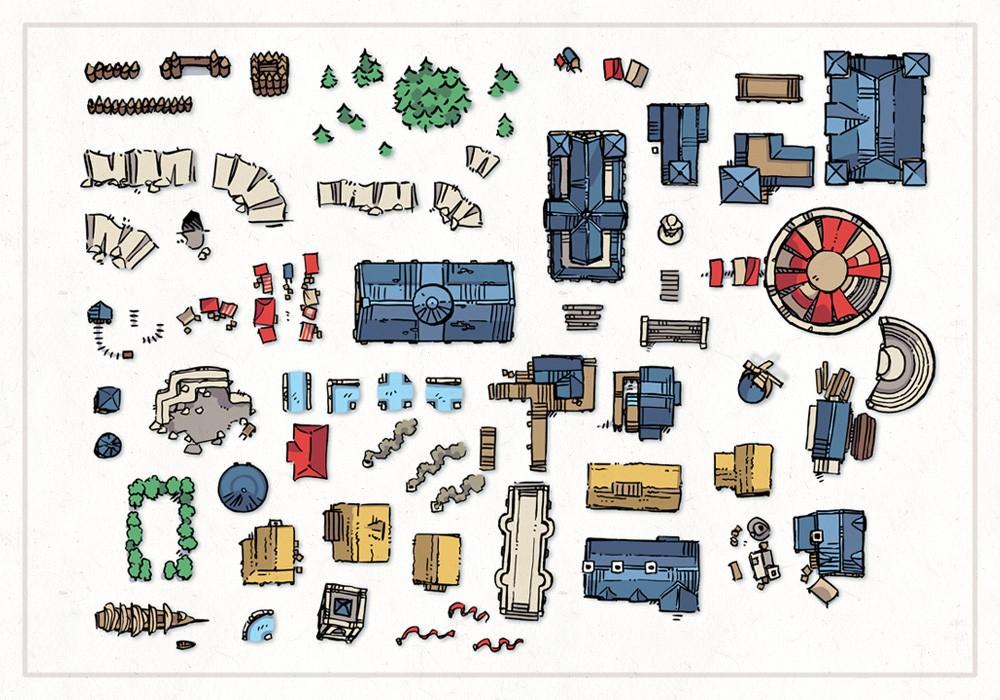 Wonderdraft Town & City Map Assets Pt.3, preview