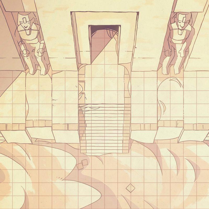 Desert Temple Battle Map, Instagram