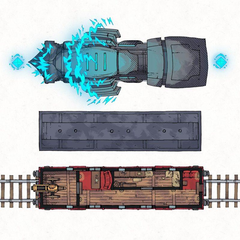 Lightning Rail & Train Map Assets, Instagram