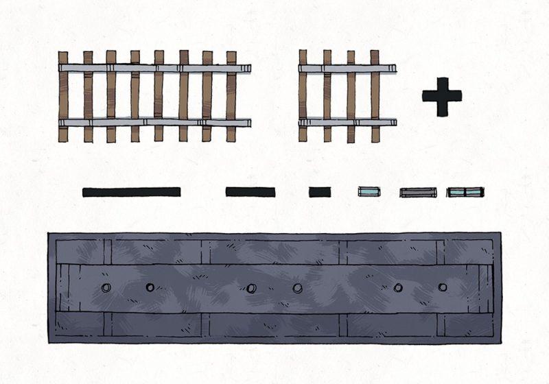 Lightning Rail & Train Map Assets, railway tracks
