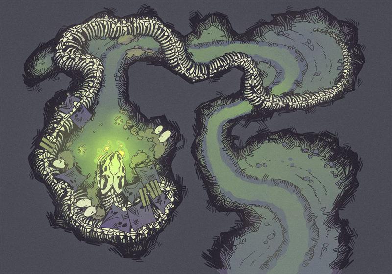 Snake Den, Ritual (23x16)