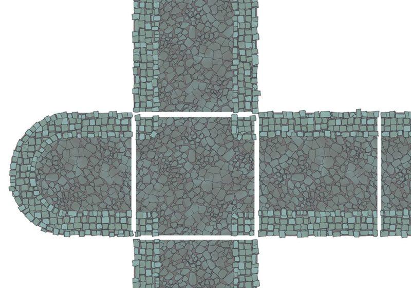 City Street Tiles - Dark