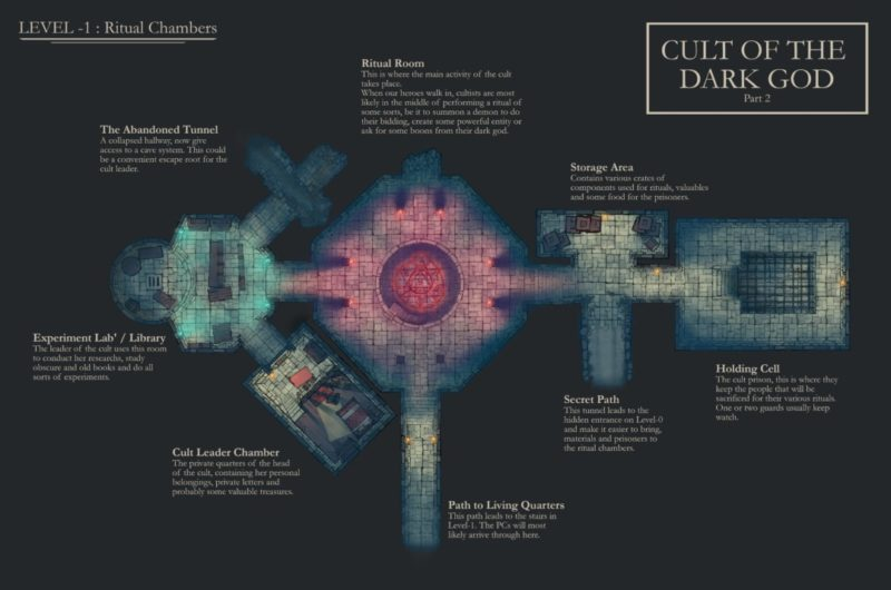 Cult-Dungeon-Lower-Red-Custom-Map