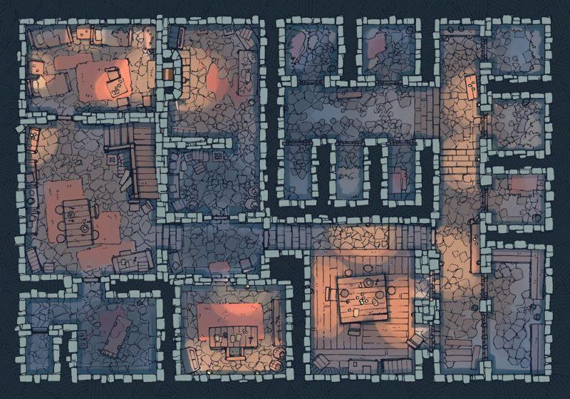 Dungeon Jail (22x16) Cold, Dark