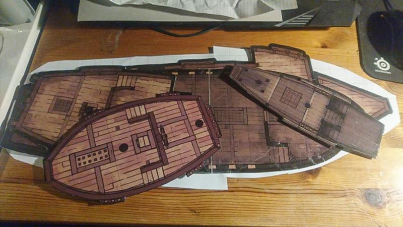 Karl Galleon Sailing Ship Battle Map 1