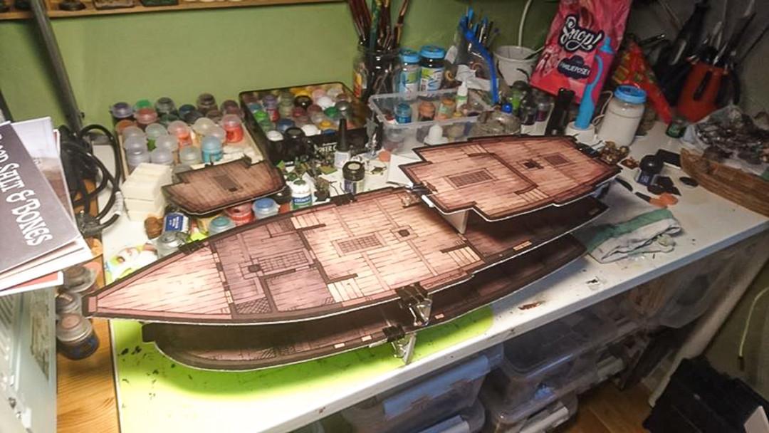 Karl Galleon Sailing Ship Battle Map 3