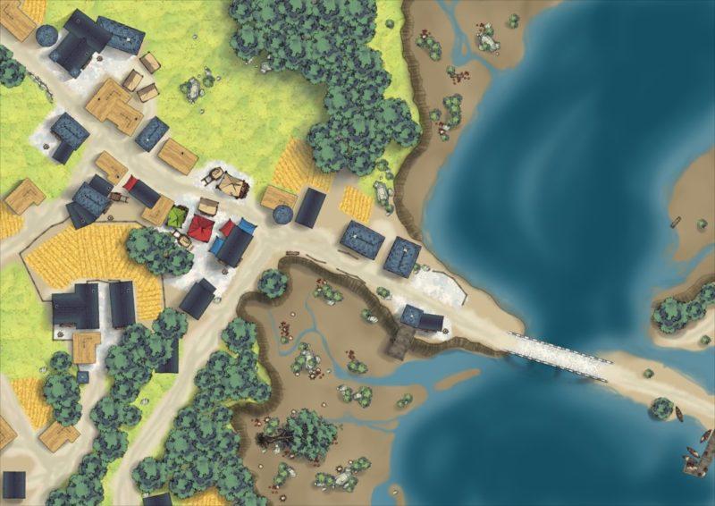 White-Wood-Village-Day-Custom-Map