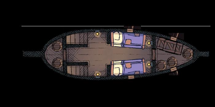 Air Patrol Boat - Bottom Deck (5x10@70px)