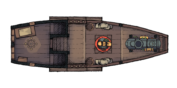 Air Patrol Boat - Maindeck (5x10@70px)