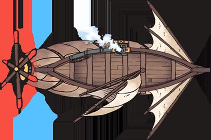 Airships Boat (6x4@70px)