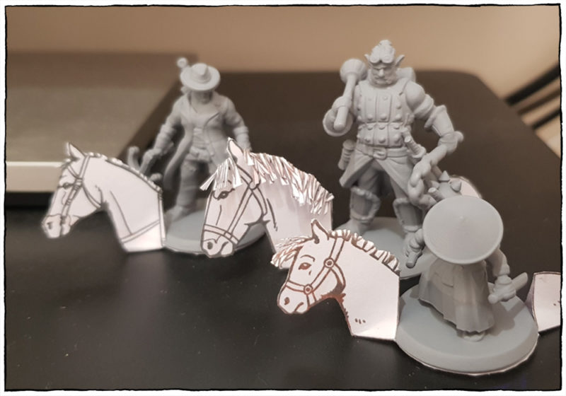 Horse Figurines & Tokens - Figurines