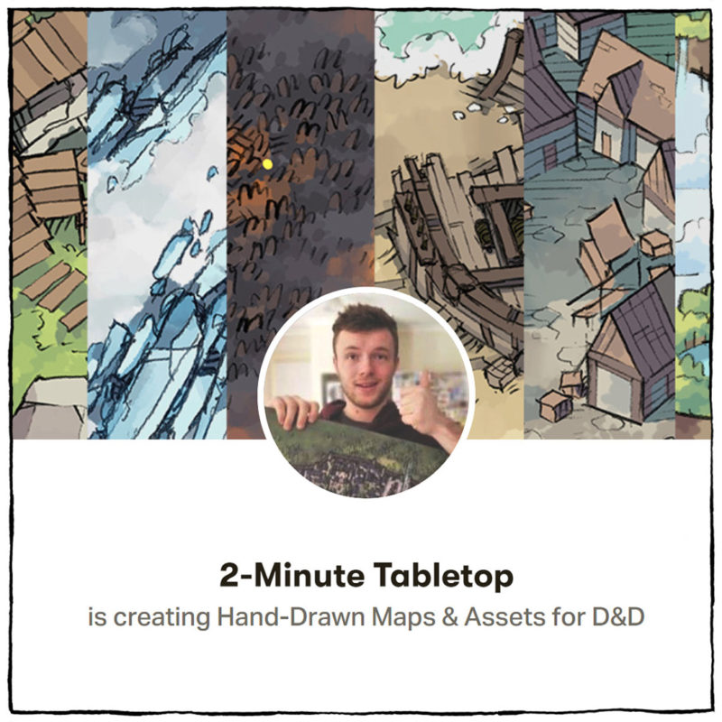 2-Minute Tabletop Ross McConnell