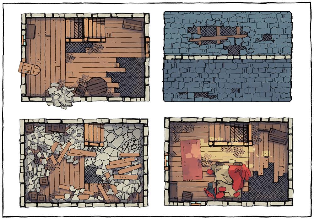 Basic Building Assets - Abandoned House