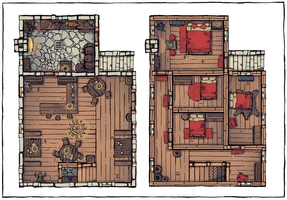 Basic Building Assets - Inn