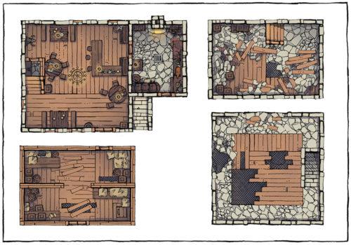 Basic Building Assets - Premade Building Maps