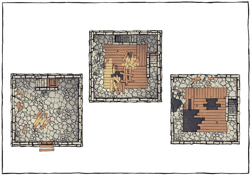 Basic Building Assets - Tower Ruin