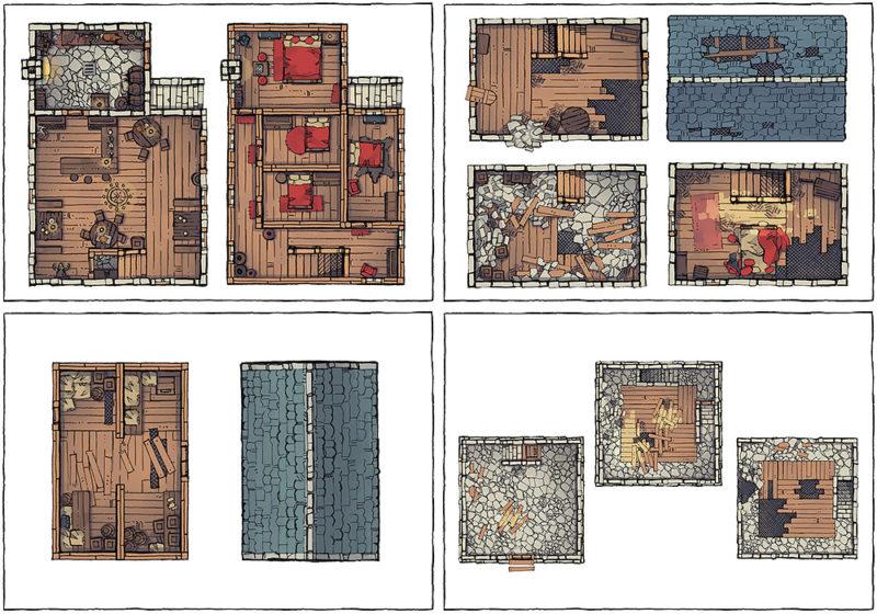Basic Building Assets - Variants