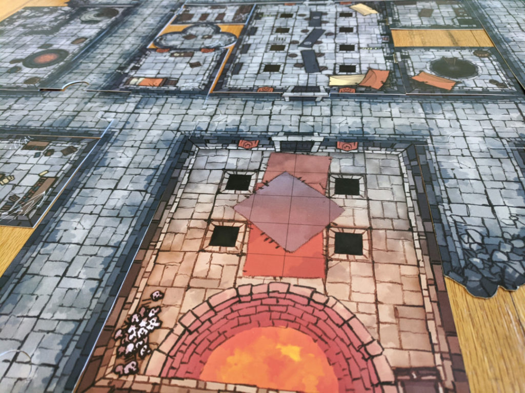 Droskar's Crucible - Crown of the Kobold King - battle map 3