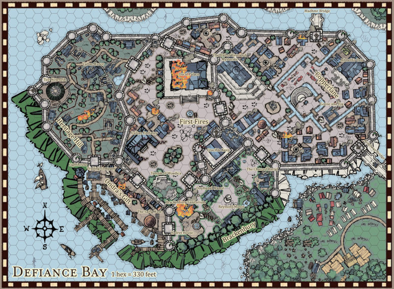 Defiance Bay City Map by Nimbus