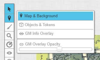 Roll20 Map & Background layer