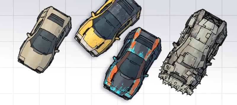 Cyberpunk Cars map assets - Banner