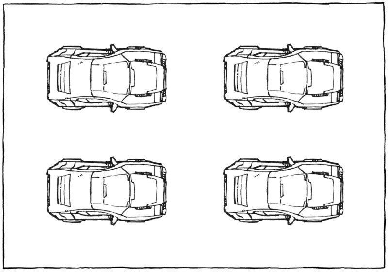 Color-it-yourself vehicles