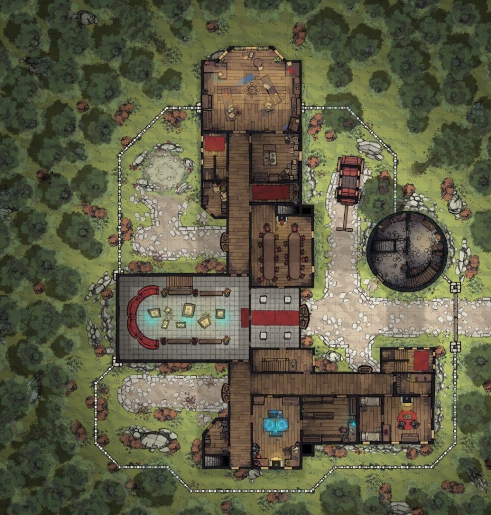 Margaster Mansion - Floor 1