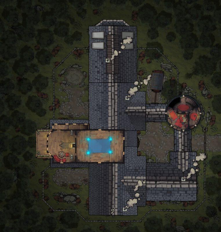 Margaster Mansion - Floor 3