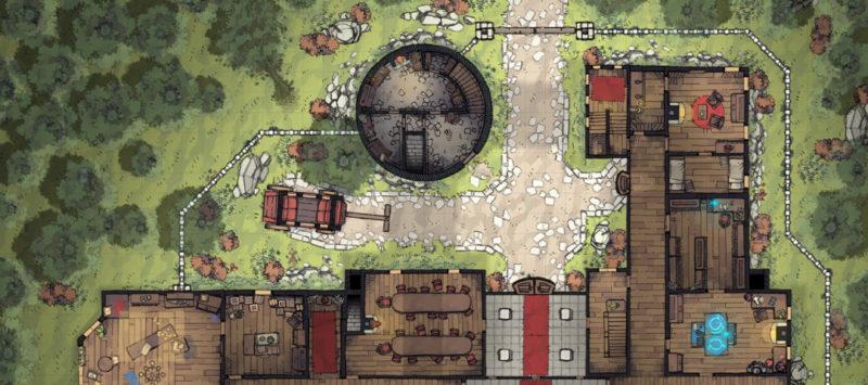 Margaster Mansion battle map - Banner preview
