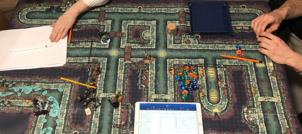 Sewer battle map by Asen Stoyanov - Banner