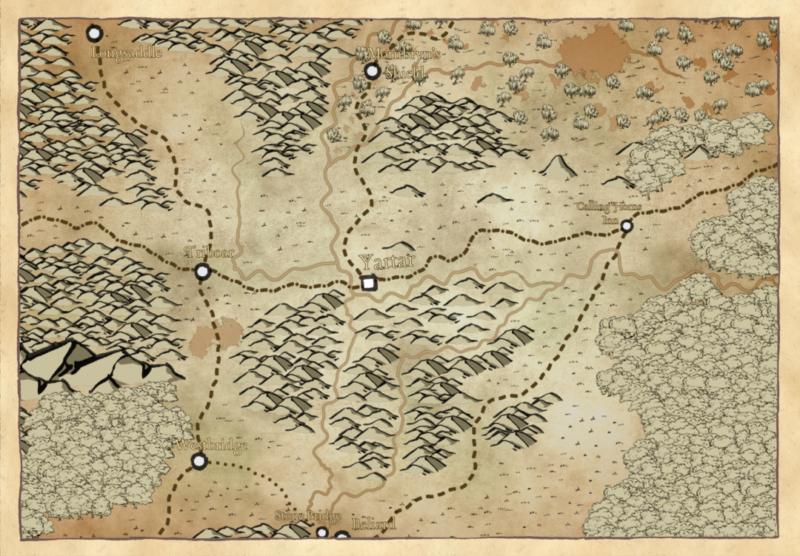 Yartar Region Map