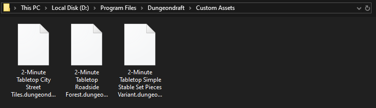 Dungeondraft custom assets folder