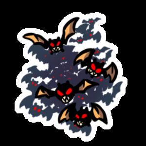 Bat Swarm Character Token